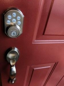 door lock home staging tips Indianapolis