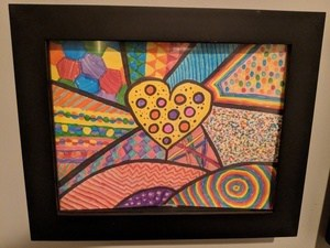kids artwork frame