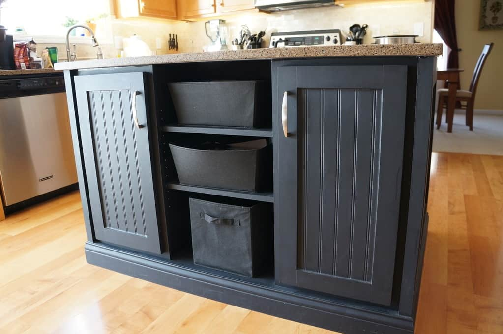 kitchen island expansion storage solutions and organizing design solutions