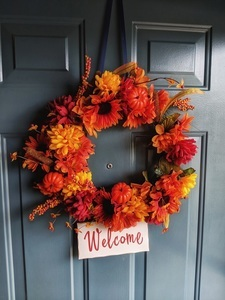 Dollar Store DIY Fall Wreath Ideas Tutorials