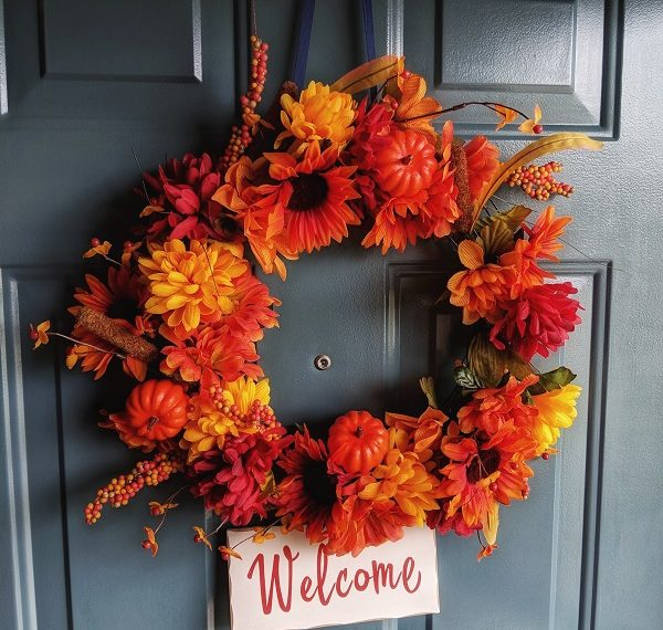 Dollar Store DIY Fall Wreath Ideas Tutorials