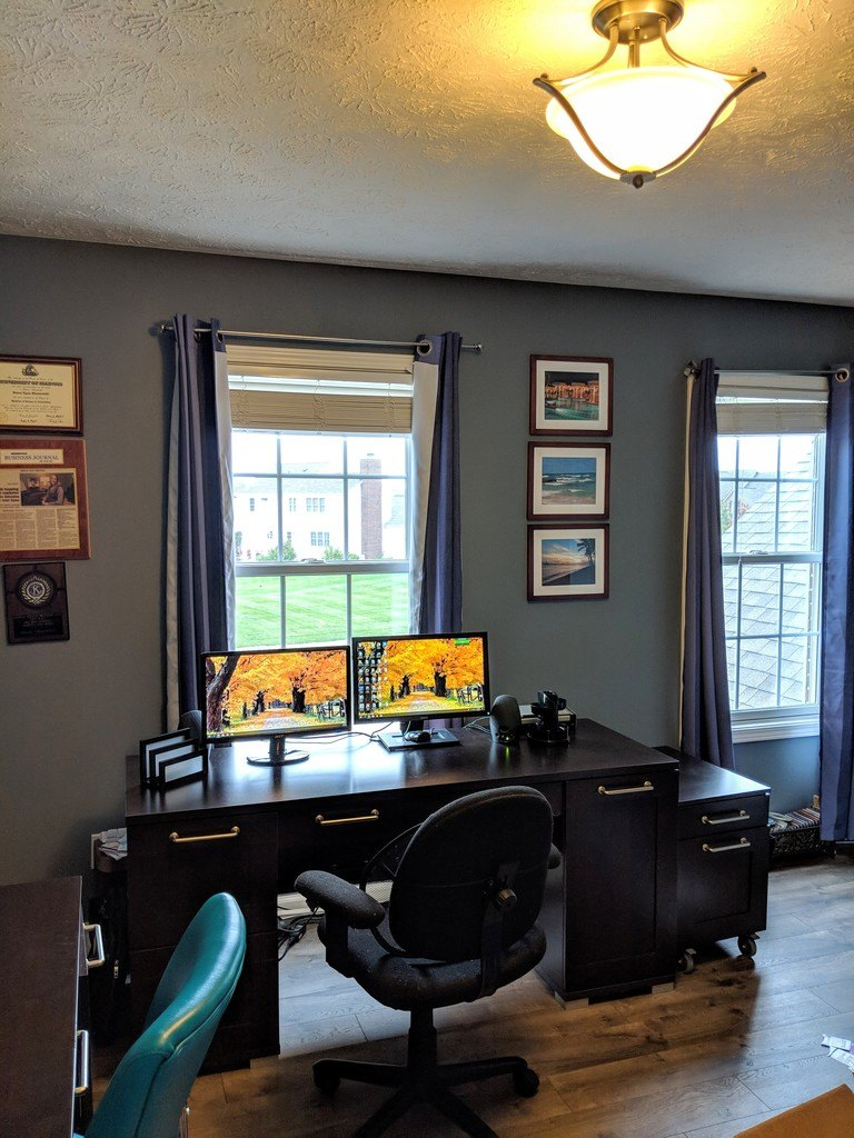 One Room Challenge Fall 2018 Week 1 Before Shot Home OFfice