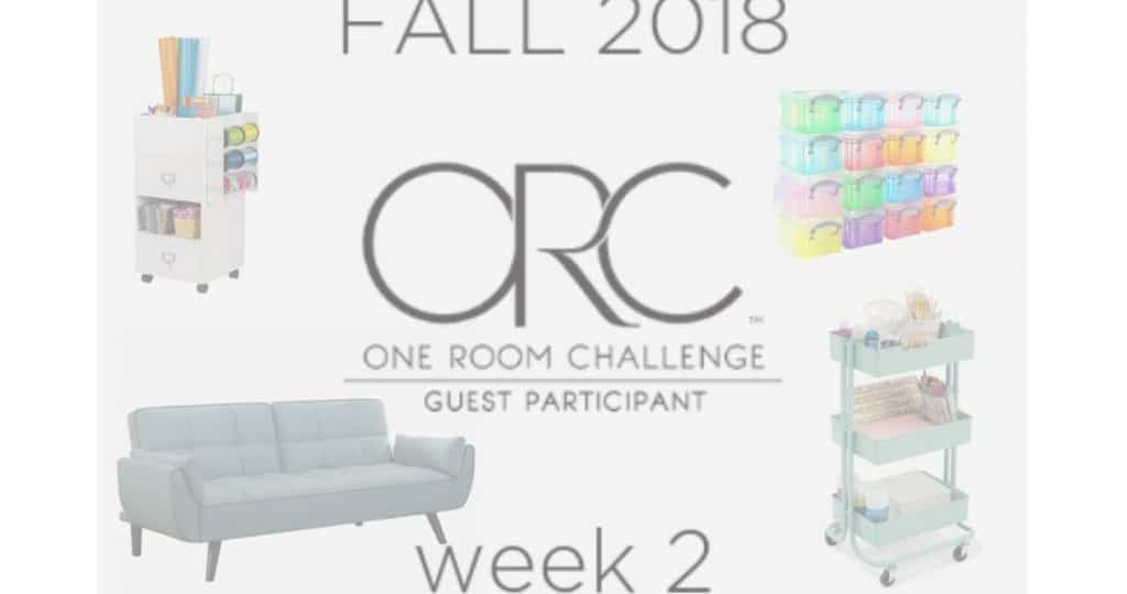 One Room Challenge Week 2 - Color Joy Home Office Redesign