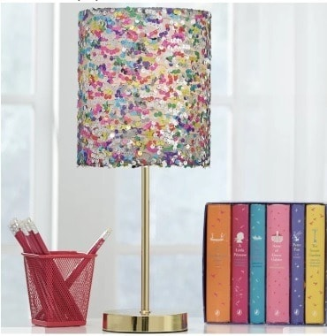 colorful table lamp; Home office lamp