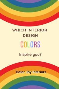 interior design color style personality