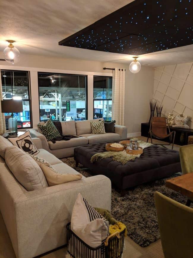 neutral family room design
