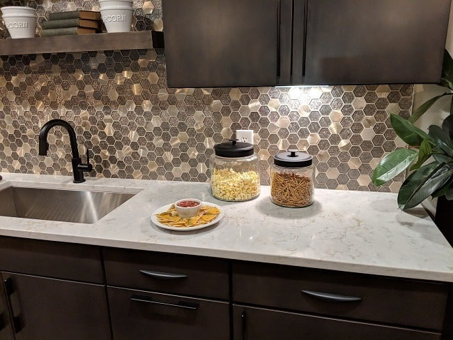 Indy Home Show - kitchen backsplash ideas