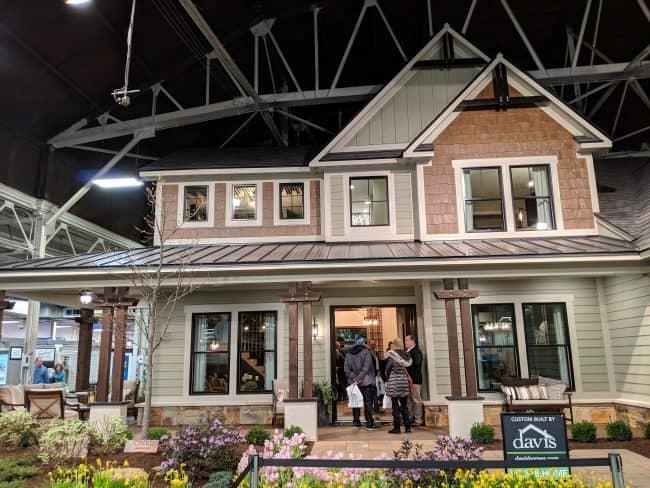 Indianapolis Home Show 2019 - Farmhouse Style Showcase home