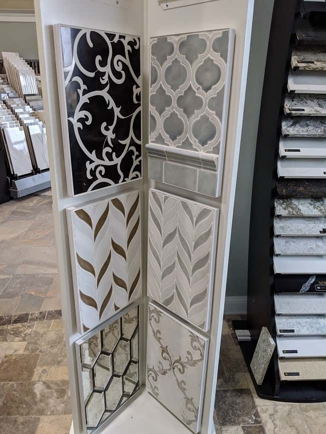 patterned floor tiles - 2019 flooring trends