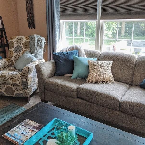 family room decor - nautical