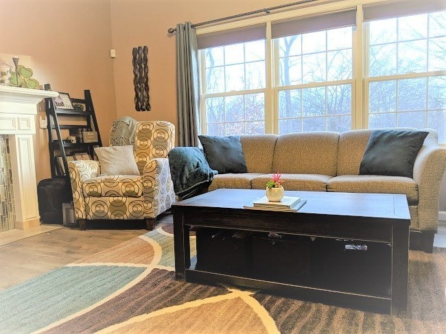 2019 home color trends - family room