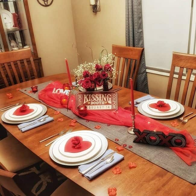 Kroger grocery store home decor - Valentine's day display