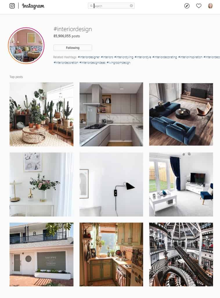 neutral colors dominate the world of Instagram - neutral interior design - neutral decor trend