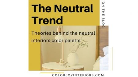 Neutral Color Palette - neutral decor trend