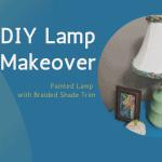 DIY Lamp Makeover - Colorful Lamp